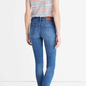 Madewell Skinny Skinny Ankle Distressed Denim 26